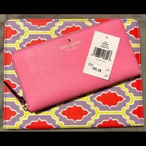 Authentic Kate Spade Zipper Wallet